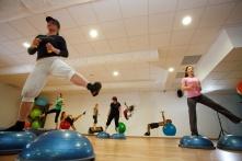 Sála na skupinové cvičenia Olymp Health Club