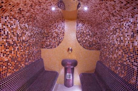 Parná sauna v Olymp Health Clube